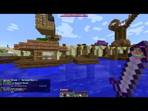 Minecraft: Hunger Games w/Mitch! Game 510 - Chop'em Up!