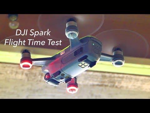 DJI Spark Flight Time Test