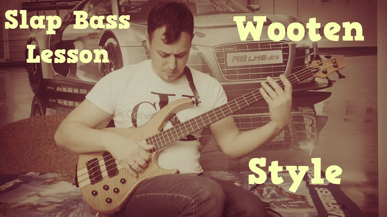 Slap Bass Lesson - Wooten Style (Bass Tutorial with TABS)