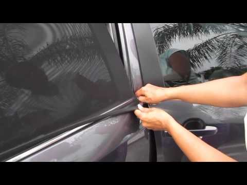 EZ-Slip Premium Adjustable Shade - Car Side Window Baby Sun Shade  review