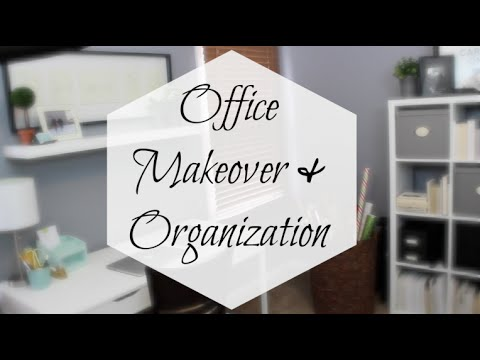 IKEA Office Makeover & Organization