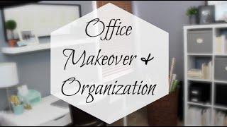 ikea office makeover organization