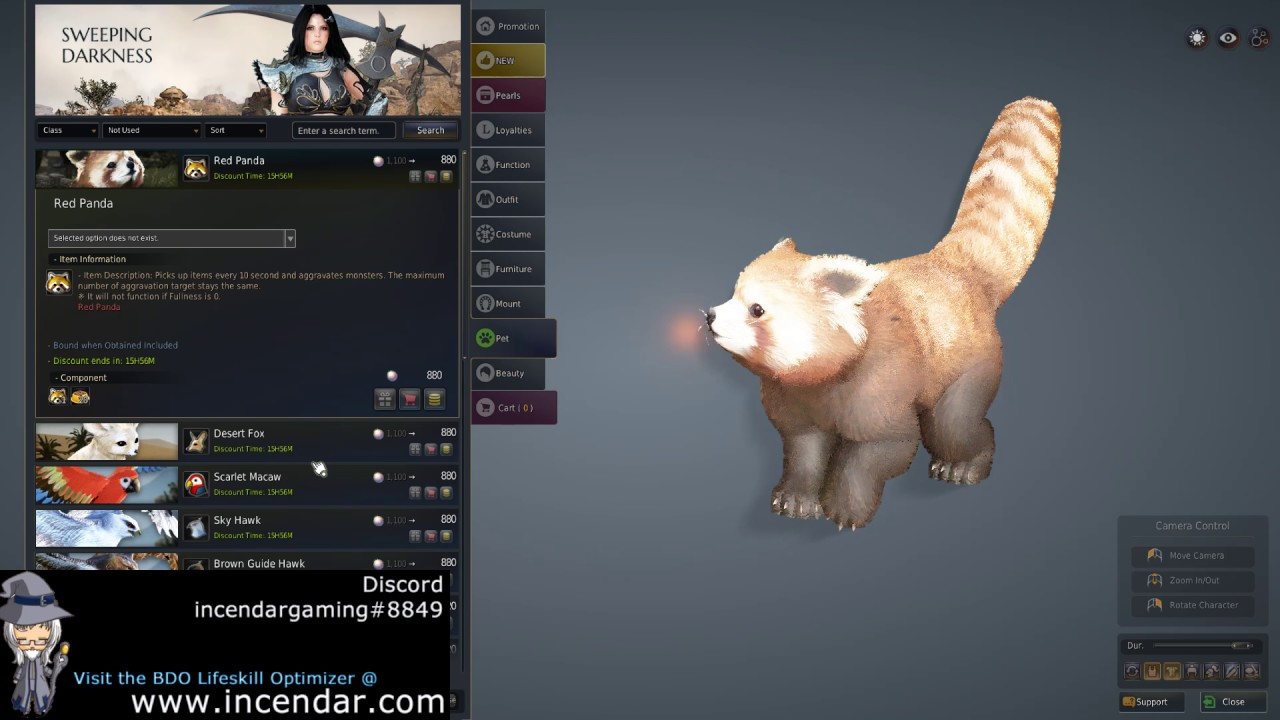 how to use pet in bdo