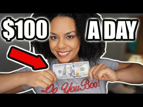 Make $100 Per Day Working From Home!