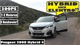 NEU: Peugeot 3008 Hybrid 4 - Zurecht oder Unrecht mit E-Kennzeichen?