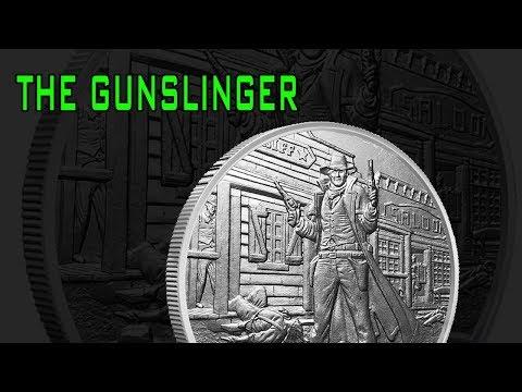 New Prospector Series Silver Round: The Gunslinger