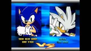 sonic speed fighters 2 match 1 sonic and tails vs silver and amy