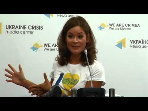 Mariya Gaydar, Deputy Head of the Odessa Regional State Administration. UCMC, 20.07.2015
