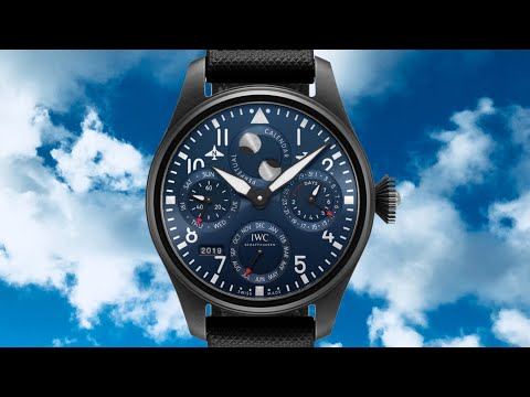 """Hands-On Review: IWC Big Pilot's Watch Perpetual Calendar Edition """"Rodeo Drive"""""""