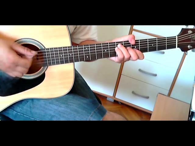 Odlazi, odlazi - Toma Zdravkovi? - cover lesson (spušten štim  -1)