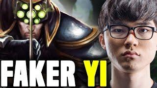 FAKER Crazy Picks MASTER YI MIDLANE AGAIN! - SKT T1 Faker SoloQ Challenger Korea | SKT T1 Replays