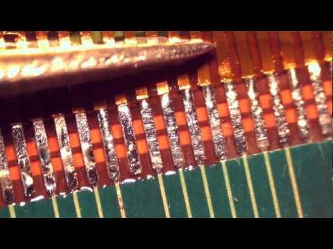 видео: Методика пайки шлейфов закрытого типа