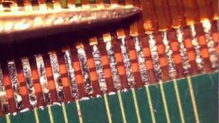Методика пайки шлейфов закрытого типа(Из-за своей дешевизны данный тип крепления шлейфа стал все чаще и чаще встречаться на современных сотовых..., 2012-11-29T09:20:34.000Z)