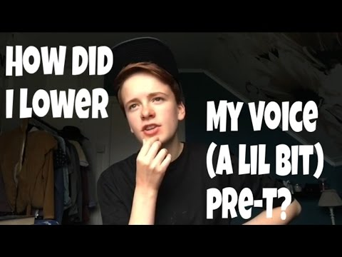will testosterone make my voice deeper