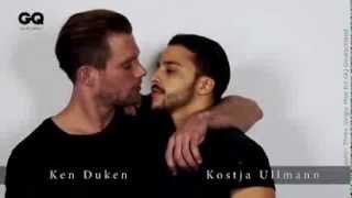 Promi-Männer küssen sich gegen Homophobie