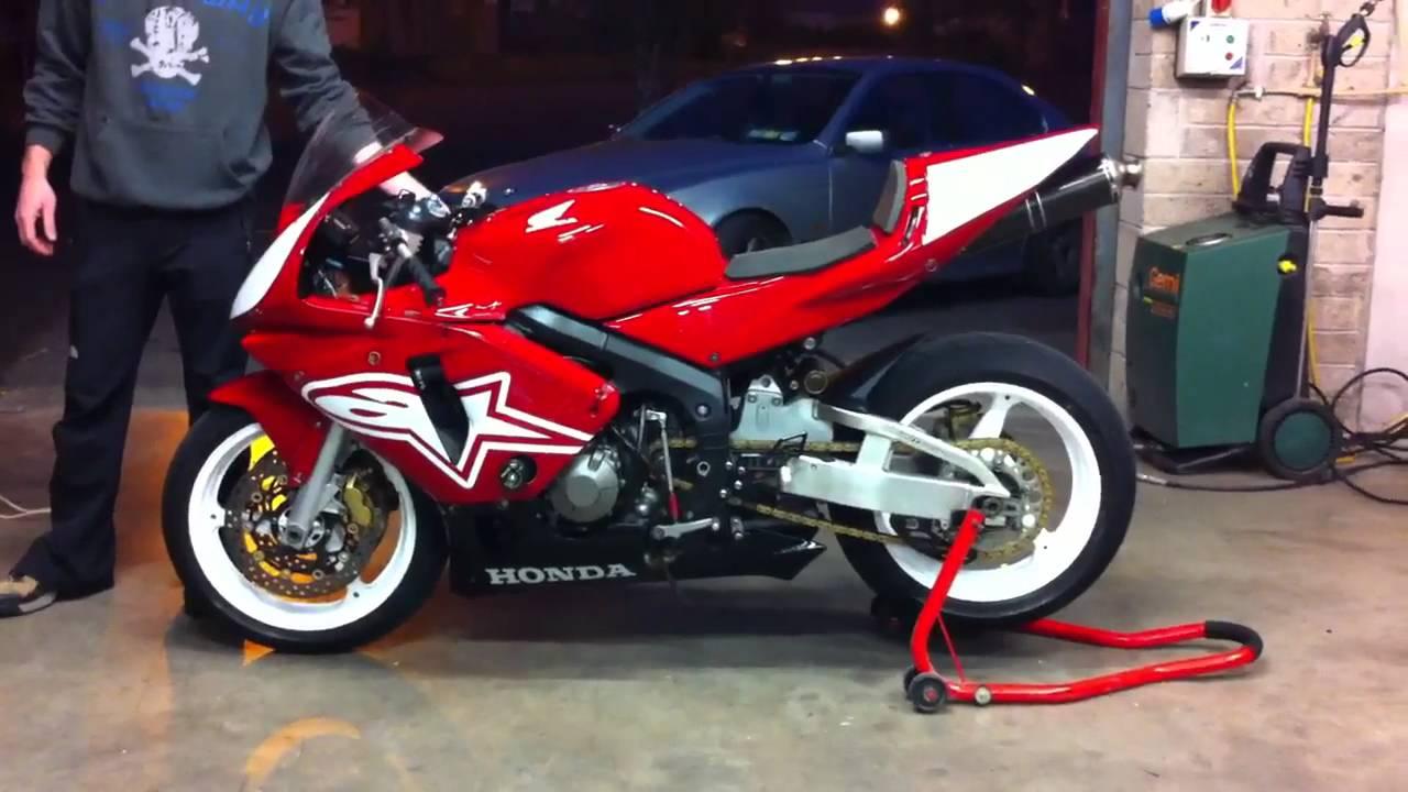 Honda Cbr 600rr Track Bike Youtube