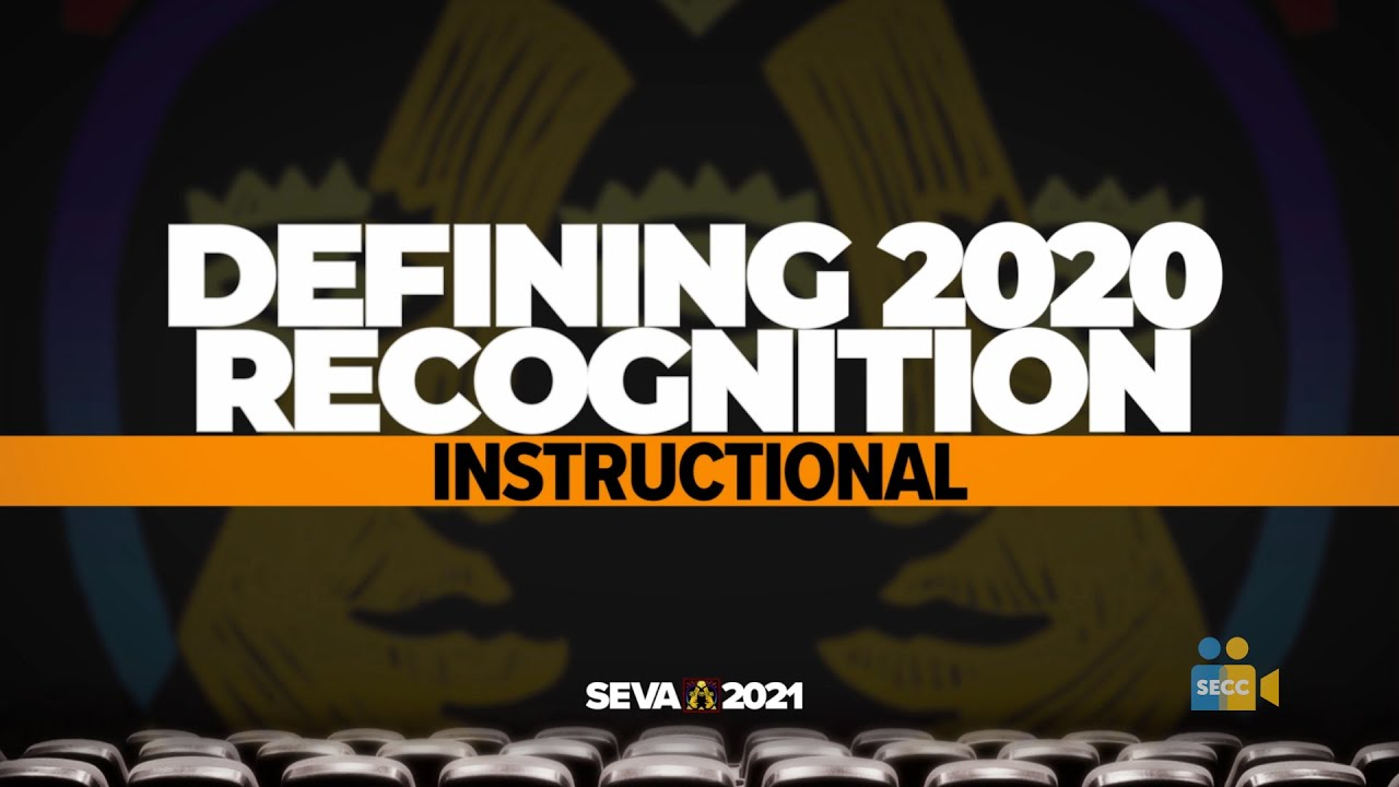 SEVA 2021: Defining 2020 – Instructional