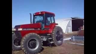 585 1990 case ih 7140 mfwd tractor sells on bigiron com on april 15th