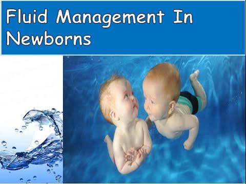 Fluid management in newborns by Dr sonali