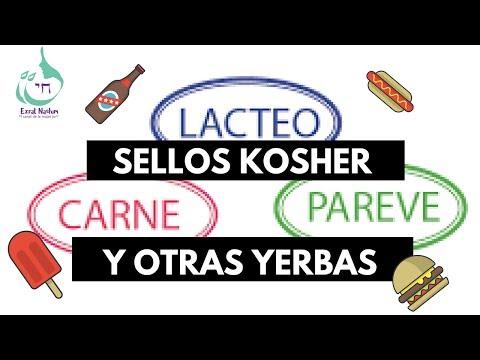 Sellos kosher y otras yerbas