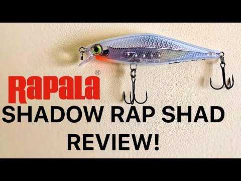 Rapala Shadow Rap Shad Review! Perch Lure Challenge EP.1