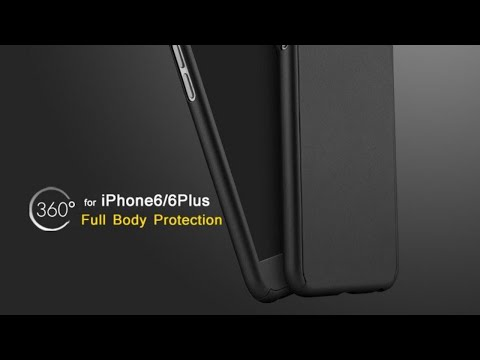 2fe9392bf5acff IPAKY 360 DEGREE HYBRID FRONT BACK COVER CASE FOR APPLE IPHONE 6S/6/6PLUS/ 6SPLUS||UNBOXING||REVIEW