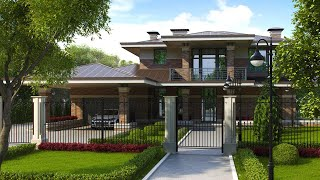 видео Архитектурные стили в индивидуальном домостроении