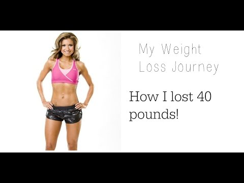 How I lost 40 lbs: My weight loss story