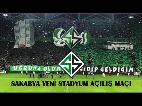 Sakarya Yeni Ataturk Stadi Acilis Maci