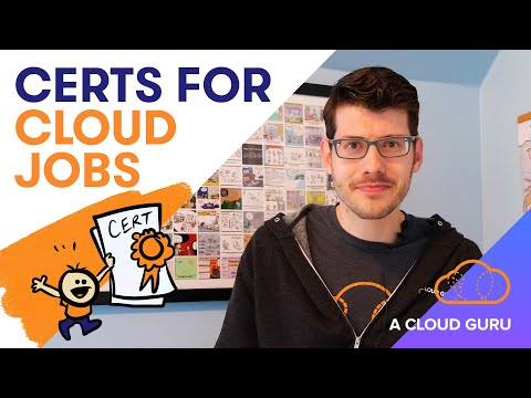 How many certs do I need to get a cloud job?