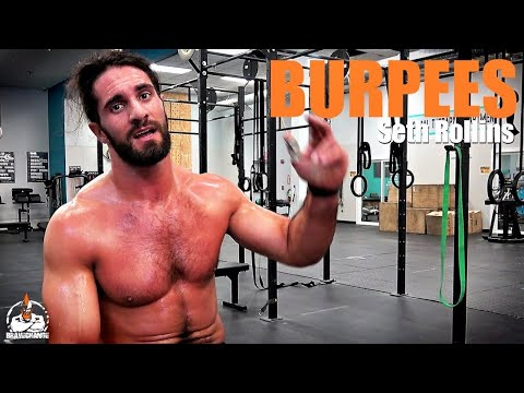 Seth Rollins Burpees (HOW TO!)