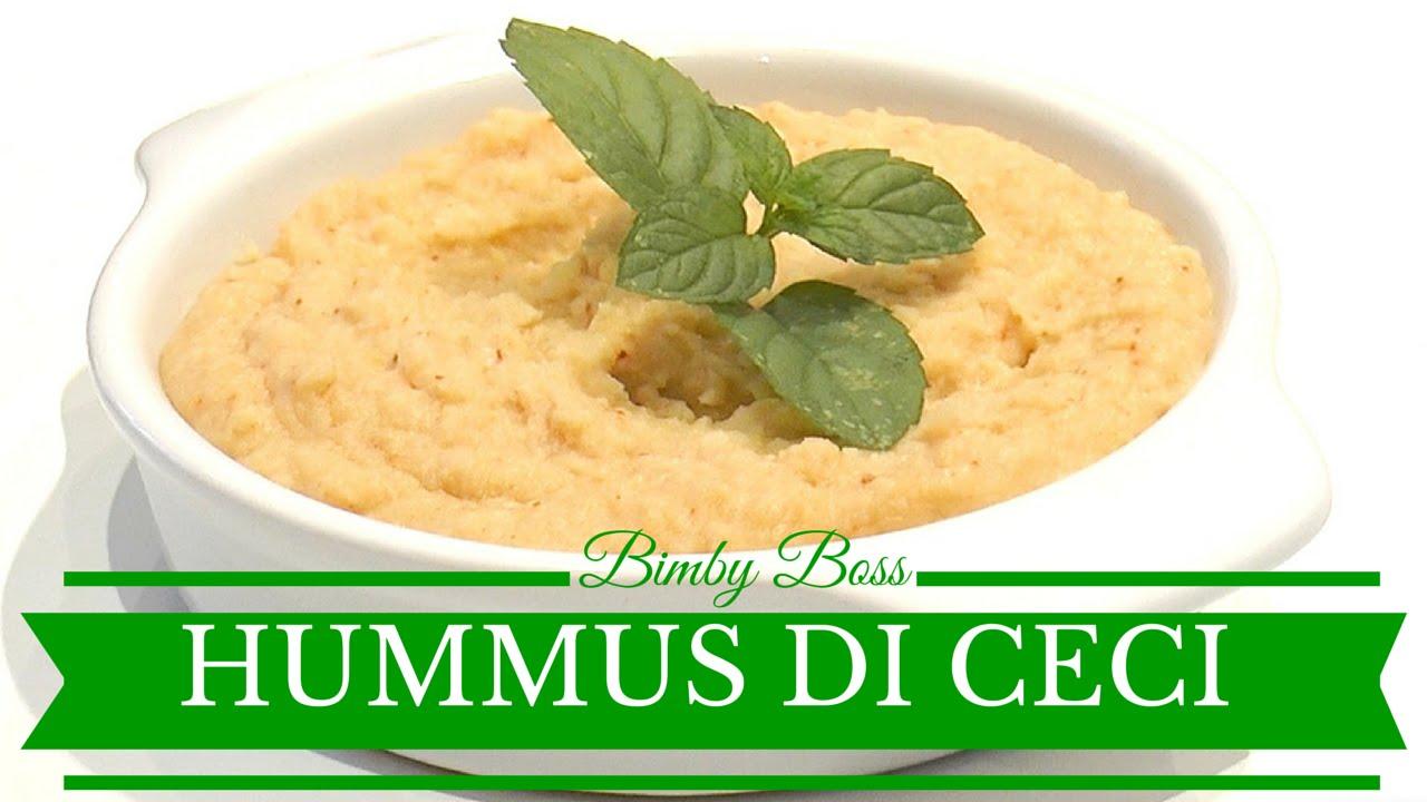 Ricetta bimby per hummus