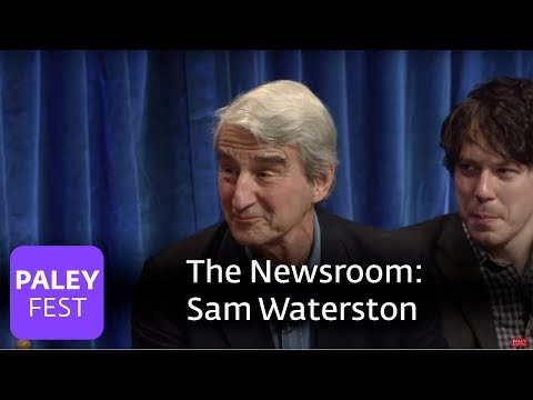 The Newsroom - Sam Waterston And The Newsroom's Cast On ...