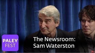 The Newsroom - Sam Waterston And The Newsroom's Cast On Aaron Sorkin's Dialogue