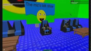 miz's talk show (iamepic12321) ROBLOX