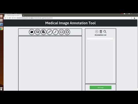 Medical Annotation Tool - Javascript