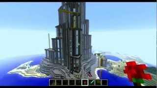 Minecraft Burj Khalifa / Burj Dubai. HUGE (Gjinn)