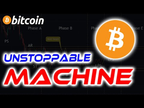 Bitcoin Is An Unstoppable Machine   When Will This Phase Be Over? Bitcoin News Today