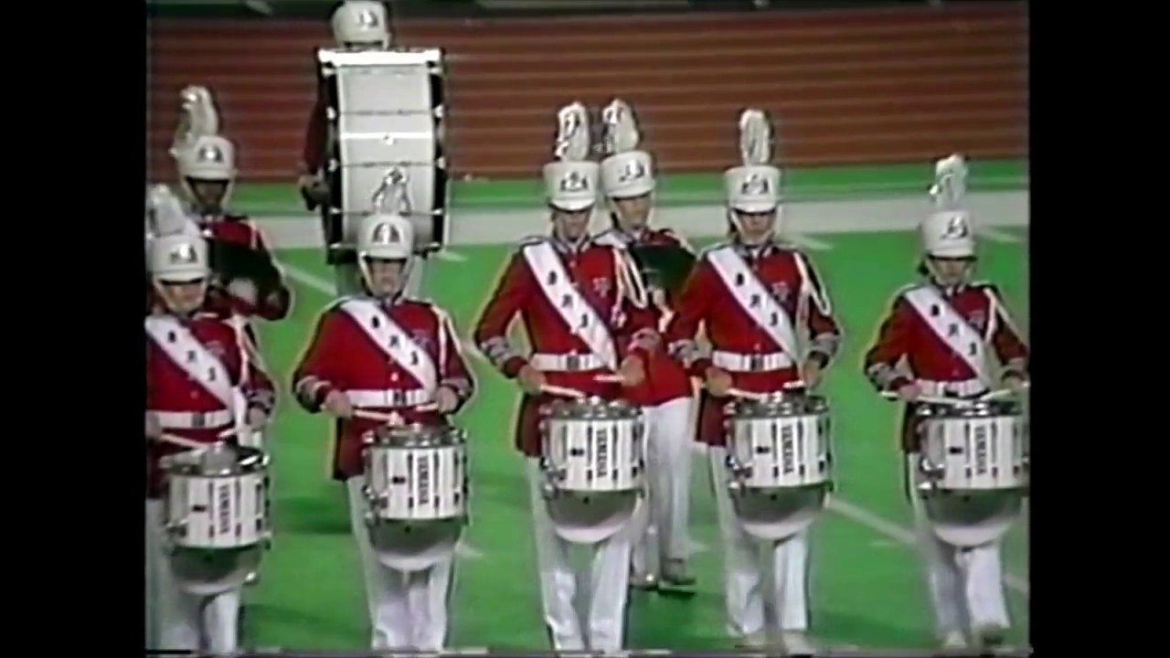 Duncanville High School Band 1989 - UIL 5A State Marching Contest