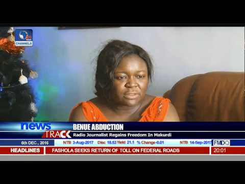 Kidnapped Benue Journalist Regain Freedom In Makurdi