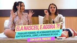 DÚVIDA REAIS SOBRE GRAVIDEZ E MATERNIDADE - com KAROL PINHEIRO - PARTE 1