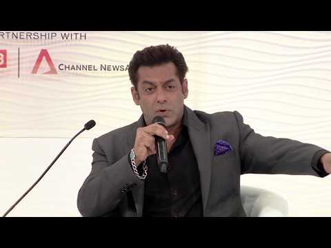 HTLS 2017: My Dad Is A Muslim, My Mother Is A Hindu And I Call Myself 'insaan', Says Salman Khan