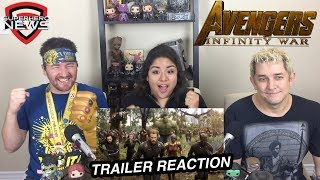 marvel studios avengers infinity war official trailer reaction and review