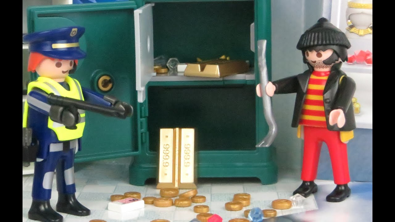 Playmobil Polizei Adventskalender deutsch: Alle Türchen! Dieb ...