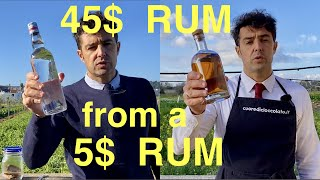 How to Make 45$ RЏM from 5$ RUM 🥃 How to age RUM at Home 7 years in only 7 days 🤪 Homeage RUM