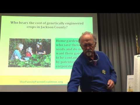 Brian Comnes: GMO-Free Jackson County / Our Family Farms Coalition - 20 Mar 2014