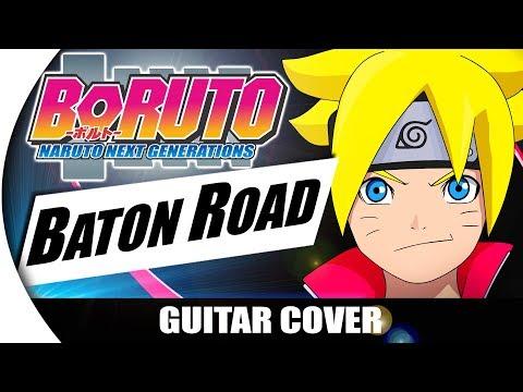 "Boruto: Naruto Next Generations (Opening) - ""BATON ROAD"" | INSTRUMENTAL | Guitarrista de Atena"