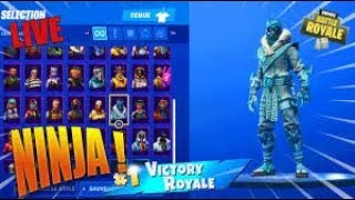 New! NINJA OF THE COLD THE MOST BEAUTIFUL SKIN OF SEASON 7! (royal fortnite battle)