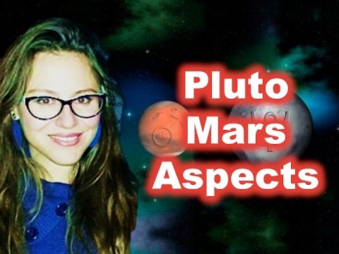 Pluto Mars Aspects in the Birth Chart