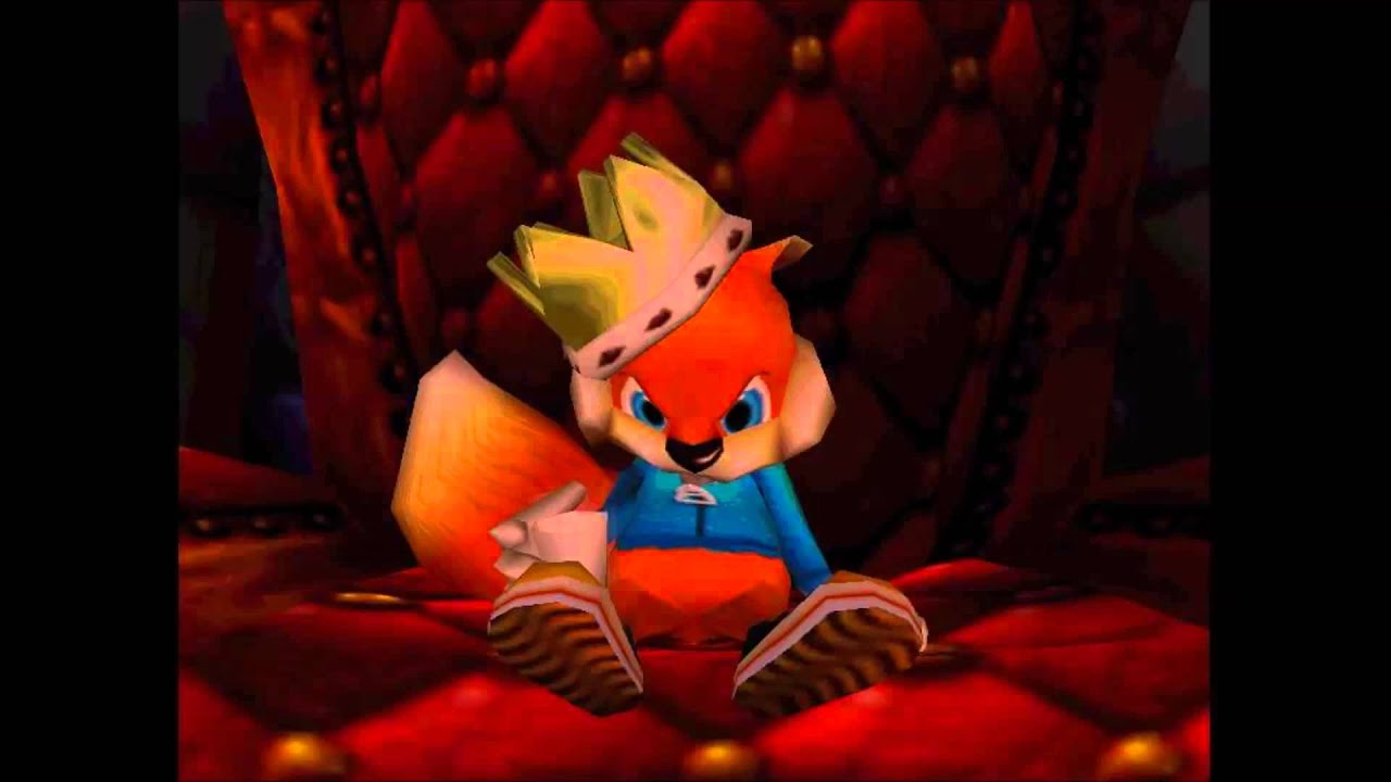 Greatest VGM 5615 Conker The King Conkers Bad Fur Day YouTube